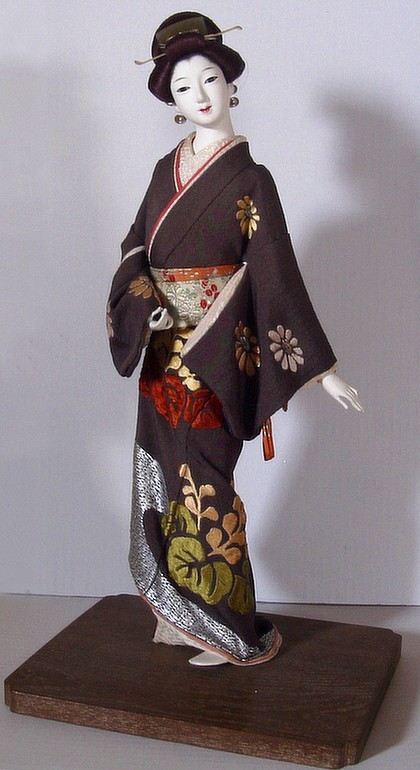 Japanese Doll Of Buke Musume 1920 S Japanese Dolls